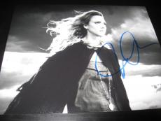 JESSICA ALBA SIGNED AUTOGRAPH 8x10 PHOTO SIN CITY DAME TO KILL FOR COA AUTO E