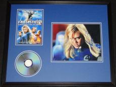 Jessica Alba Signed Framed 16x20 Fantastic Four DVD & Photo Display AW