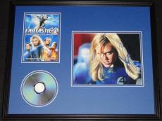 Jessica Alba Signed Framed 16x20 Fantastic Four DVD & Photo Display JSA