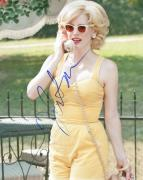 Jessica Chastain Autographed All Yellow Photo UACC RD COA AFTAL