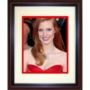 Jessica Chastain Framed 8x10 Photo