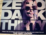 Jessica Chastain Kathryn Bigelow Signed Autograph Zero Dark Thirty Poster Photo