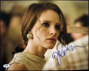 Jessica Chastain The Help Signed 11X14 Photo Autograph PSA/DNA #S85983