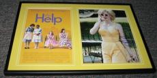 Jessica Chastain The Help  Signed Framed 12x18 Photo Set #2