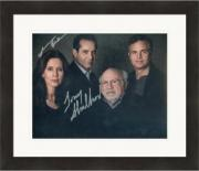 Jessica Hecht and Tony Shalhoub autographed 8x10 photo (The Price Broadway Play) #SC1 Matted & Framed
