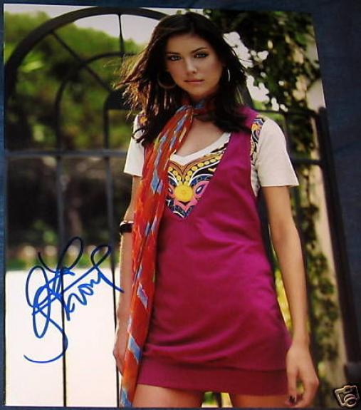 Jessica Stroup Signed Autograph 90210 Babe 8x10 Photo B