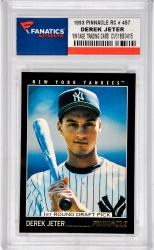 Derek Jeter New York Yankees 1993 Pinnacle #457 Rookie Card - Mounted Memories  - Mounted Memories