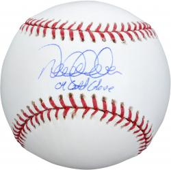 Derek Jeter New York Yankees Autographed Baseball with 04 GG Inscription