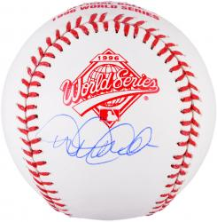 Derek Jeter New York Yankees Autographed 1996 World Series Logo Baseball