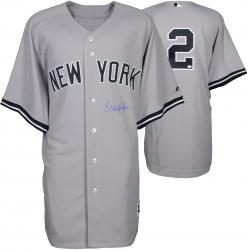 Derek Jeter New York Yankees Autographed Authentic Road Jersey
