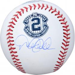 Derek Jeter New York Yankees Autographed Retirement Baseball