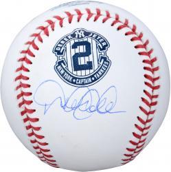 Derek Jeter New York Yankees Autographed Retirement Baseball