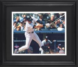 "Derek Jeter New York Yankees Framed Unsigned 8"" x 10"" Photograph - Mounted Memories"