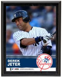 "Derek Jeter New York Yankees Sublimated 10.5"" x 13"" Plaque"