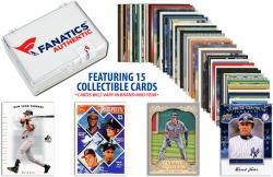Derek Jeter-New York Yankees- Collectible Lot of 15 MLB Trading Cards - Mounted Memories