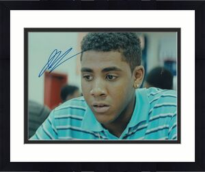 JHARREL JEROME signed (MOONLIGHT) MOVIE 8X10 photo *KEVIN* W/COA