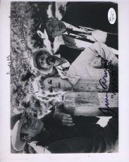 JIM ARNESS AMANDA BLAKE GUNSMOKE JSA SIGNED 8x10 PHOTO AUTHENTIC AUTOGRAPH