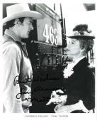"JIM ARNESS as SHERIFF MATT DILLON in TV Series ""GUNSMOKE"" 8x10 B/W Photo"