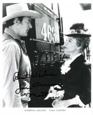 "JIM ARNESS as SHERIFF MATT DILLON in TV Series ""GUNSMOKE"" 8x10 B/W Photo"