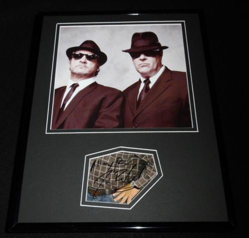 Jim Belushi Signed Framed 11x14 Photo Poster Display Blues Brothers