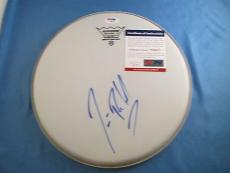 Jim Belushi The Blues Brothers Signed Drumhead PSA DNA COA Autograph