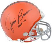 Cleveland Browns Jim Brown Hall of Fame Autographed Helmet