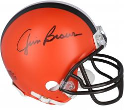 Jim Brown Autographed Mini Helmet
