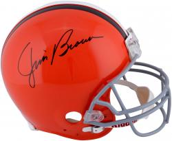 Jim Brown Signed Helmet - Pro Line Riddell Authentic