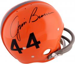 Jim Brown Syracuse Orangemen Autographed Riddell Pro-Line Authentic Helmet