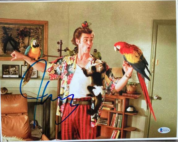 "JIM CARREY SIGNED AUTOGRAPH ""ACE VENTURA"" CLASSIC RARE 11x14 MOVIE FUNNY PHOTO C"