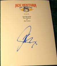 "Jim Carrey Signed Autograph ""ace Ventura Pet Detective"" Full Movie Script & Coa"