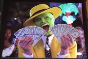 """Jim Carrey Signed Autograph Funny Scene """"the Mask"""" Money 11x14 Photo Jsa L74018"""
