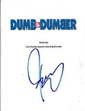 Jim Carrey Signed Dumb And Dumber Full 111 Page Script Authentic Autograph