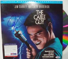 "Jim Carrey ""the Cable Guy"" Psa/dna Coa Signed Autographed Lp Album Rare L@@k"