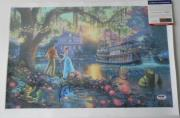 Jim Cummings Kevin Michael Richards Disney Princess & The Frog Signed Canvas Psa