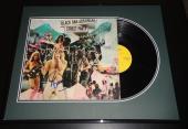 Jim Dandy Mangrum Signed Framed Black Oak Arkansas 1974 Record Album Display B