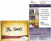 Jim Davis Garfield Creator Signed Autographed Custom Trading Card Jsa Coa Rare A