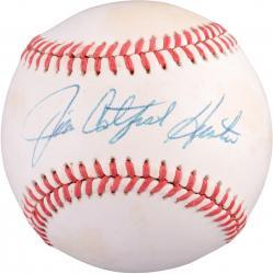 "Jim ""Catfish"" Hunter Oakland Athletics Autographed Baseball PSA/DNA"