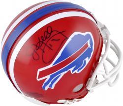 Jim Kelly Autographed Mini Helmet