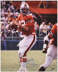 "Jim Kelly Miami Hurricanes Autographed 16"" x 20"" Photograph"