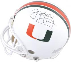 Jim Kelly Miami Hurricanes Autographed Riddell Pro-Line Authentic Helmet