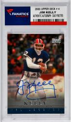 Jim Kelly Buffalo Bills Autographed 2000 Upper Deck # 4 Card