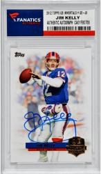 Jim Kelly Buffalo Bills Autographed 2012 Topps QB  Immortals # QI-JK Card
