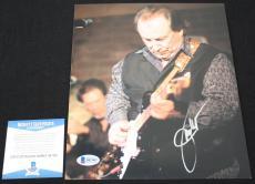 Jim Messina signed 8 x 10, Loggins and Messina, POCO Beckett BAS B87402