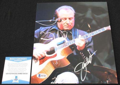 Jim Messina signed 8 x 10, Loggins and Messina, POCO Beckett BAS B87403
