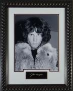 Jim Morrison - Replica Autographed Framed Display