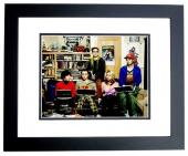 Jim Parsons and Kaley Cuoco Signed - Autographed Big Bang Theory 8x10 inch Photo - BLACK CUSTOM FRAME - Guaranteed to pass PSA or JSA