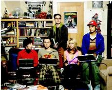 Jim Parsons and Kaley Cuoco Signed - Autographed Big Bang Theory 8x10 inch Photo - Guaranteed to pass PSA or JSA