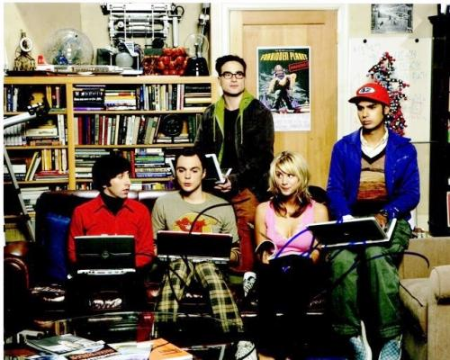 Jim Parsons and Kaley Cuoco Signed - Autographed Big Bang Theory 8x10 inch Photo - Guaranteed to pass PSA or JSA