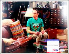 Jim Parsons Autographed Signed Big Bang Theory Tbbt 11x14 Photo Picture Psa Coa